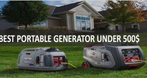 Best Portable Generator Under 500$