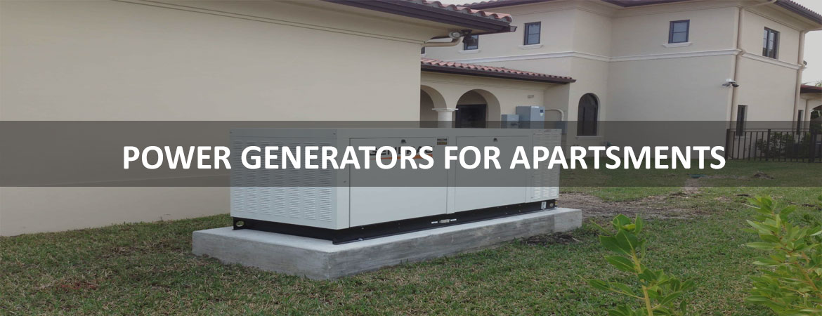 Power Generators For Apartments