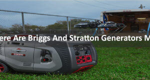Where Are Briggs And Stratton Generators Made