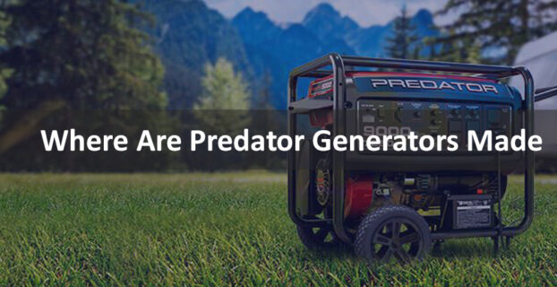 Where Are Predator Generators Made