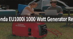 Honda EU1000i 1000 Watt Generator Review