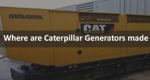 Where are Caterpillar Generators made