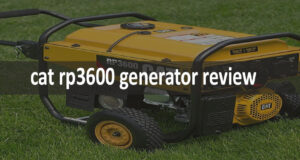 Cat RP3600 Generator Review