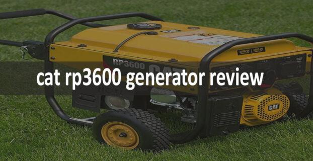 Cat RP3600 Generator Review