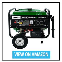 DuroMax XP4850EH Dual Fuel Portable Generator